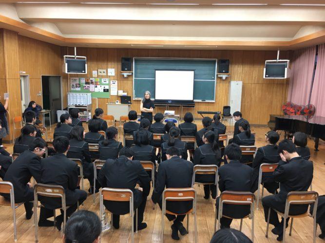 向井山朋子上五島高校