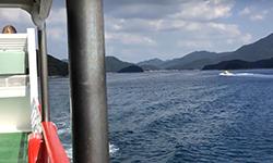 若松港から福江港へ